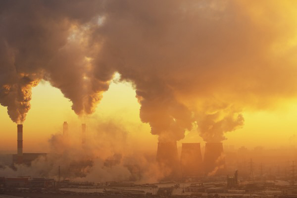 pollution from buildings